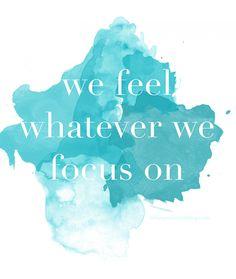 We feel ...