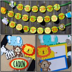 Jungle Safari Birthday Party Package, Jungle Shower, Safari Birthday