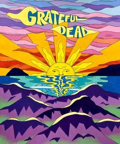 Grateful Dead Image, Grateful Dead Poster, Grateful Dead Wallpaper, Art Is Dead, Positive Wallpapers, Psychadelic Art, Crochet Wall Hangings, Bear Art, Band Posters
