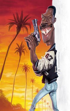 Anthony Geoffroy's extreme caricatures