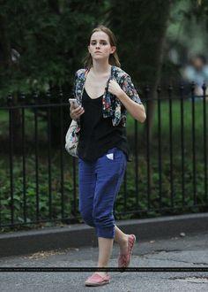 Emma Watson in East Village, NYC. (7/27)