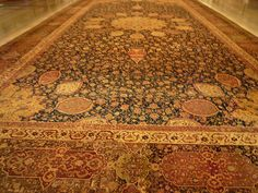 The fantastic Aradibil Carpet, one of the finest handknotted carpets ever from the 1600s