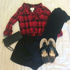 Forever 21 lightweight flannel tunic This is a red and black forever 21 flannel! It is lightweight so you can use it as an accessory around your waist as well! You can roll the sleeves up or down. The flannel is a little longer so it could be worn with leggings or worn over a black tee and dressed up with a cute pair of shorts! Forever 21 Tops Button Down Shirts