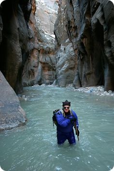 definitely want to hike The Zion Narrows