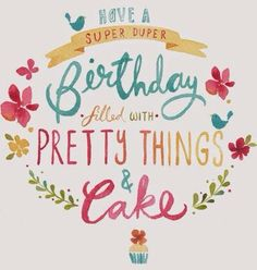 Super duper birthday
