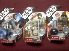 Star Wars Figures (Unopened in packages)