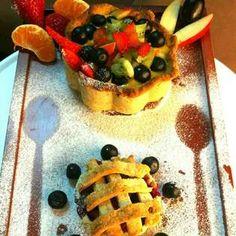 Fruit custard pie bowl, How to make Fruit custard pie bowl
