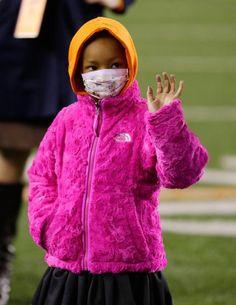 Leah Still : Moving photos of Leah Still at Bengals game