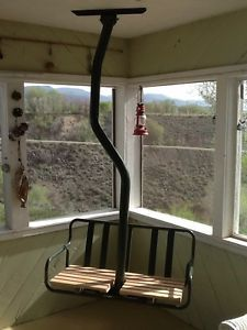how to make a porch swing out of a ski lift chair  Google