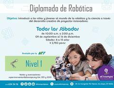 #ElTrompo ofrece una opción para niños y jóvenes Vamos a construir robots!