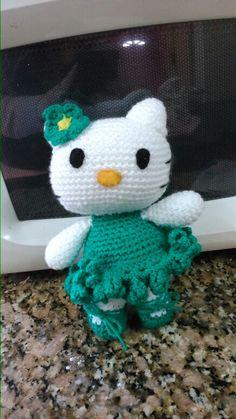Kitty verde amistad