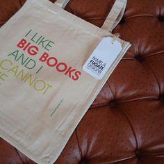 I Like Big Books and I Cannot Lie- tote by Pamela Fugate