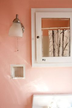 1000 images about blush old rose salmon pink dusky pink for Salmon bathroom ideas
