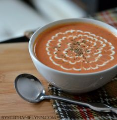 Homemade Cream of Tomato Soup Recipe - this is dinner tonight! ! SC.
