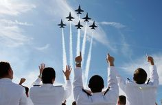 US Naval Academy graduation with Blue Angels fly over!!!