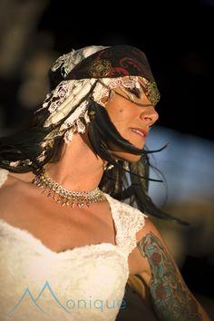 Bohemian bride  Lake Tahoe Wedding  © PhotographybyMonique.com