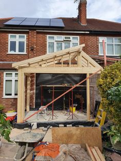 Garage Extension, Glass Extension, House Extension Design, Extension Ideas, Bungalow Extensions, Garden Room Extensions, House Extensions, Building Design, Building A House