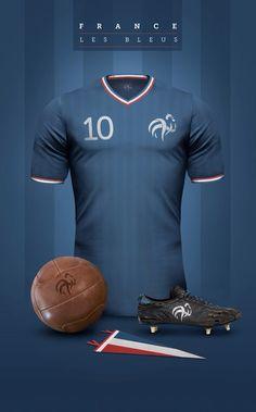f1abc58702 France Casacas De Futbol, Uniformes De Futbol, Camisetas Deportivas,  Camisetas De Fútbol,