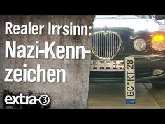 Realer Irrsinn: Nazi-Kennzeichen | extra 3 | NDR - YouTube Satire, Berlin, Comedy, Videos, Youtube, Car Number Plates, Hertha Bsc, Eye, Numbers