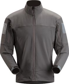 Drac Jacket Mens Durable, breathable, wind and weather-resistant softshell jacket constructed from smooth-sided, warm-facing stretch textiles designed for maximum movement during high output activity.