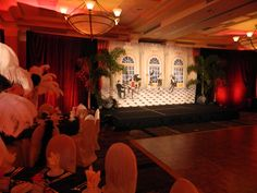 Roaring 20s Gatsby Themed Party Produced By Steven Bowles Creative Naples Florida August 17 2013 Stevenbowlescreative