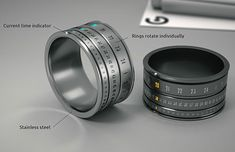 a ring watch! awesome