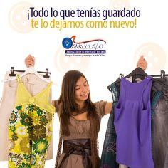 #GuardaLaCompostura #Arréglalo  ¡Todo lo que tenías guardado te lo dejamos como nuevo!  Trae tus prendas con los expertos en arreglos de ropa.