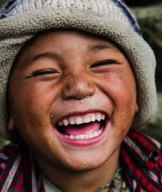 """Joy"" by Dor Kedmi.""Very nice boy I met on the way to Mount Everest"" Laughter Happy Smile, Smile Face, Make You Smile, Happy Faces, Smiling Faces, I'm Happy, Beautiful Smile, Beautiful Children, Beautiful People"