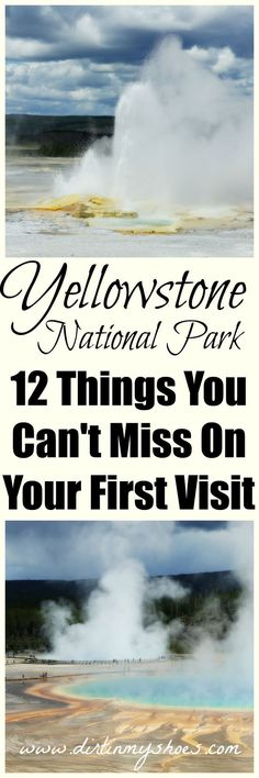 12 Hikes, Geysers, and Points of Interest You Can't Miss On Your First Visit to Yellowstone!    It is hard to narrow down what to do in Yellowstone, but I've got the best-of-the-best mapped out for your next vacation!