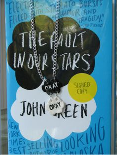 """The Fault in Our Stars """"Okay"""" Necklace."""