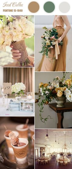 Pantone Top 10 Spring Wedding Colors 2016 | http://www.tulleandchantilly.com/blog/pantone-top-10-spring-wedding-colors-2016/