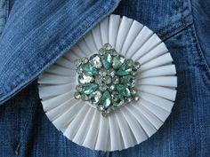 Vintage Repurposed: Prize Ribbons | Just Something I Made