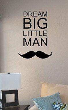 Dream Big Little Man Vinyl Wall Art Decal Sticker JS Artworks http://www.amazon.com/dp/B00N2AFAFK/ref=cm_sw_r_pi_dp_xejeub1HSRZA8