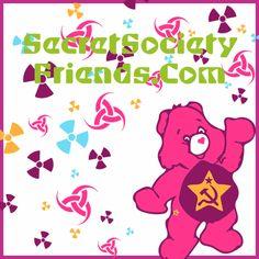 Radioactive Care Bear SSF  By Nina Garman