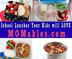 Back to School -  School Lunch Ideas
