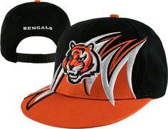 Cincinnati Bengals NFL Slash Snapback Hat