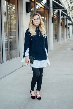 Casual look   Fall Outfit   Sweater outfit   Uptown with Elly Brown