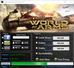 WORLD AT ARMS HACK CHEATS | Hack with App