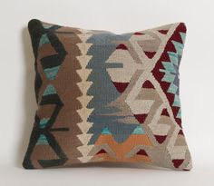 Decorative Kilim Pillows Bohemian Home Decor Handwoven Pillow Kilim Cushion Turkish Pillows Throw Pillows For Sofa Ethnic Home Decor
