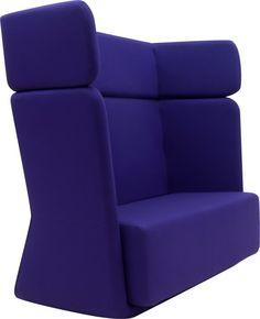 Softline Loungebank Basket Sofa hoge rug - Stoelen / Zitten   Kantoorinrichting kopen   Bureaus, kasten, tafels en stoelen voor ieder kantoor   Een Bowerkt webshop
