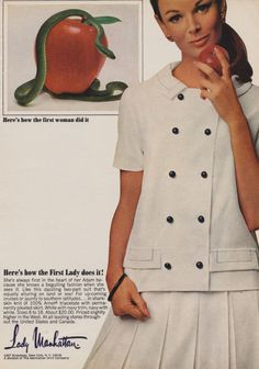 Advertising of fashion - Eve' role model