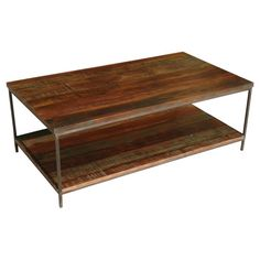 Teva Furniture Iron Coffee Table