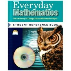 Everyday Mathematics: Student Math Journal Grade 5 Volume This consumable book provides daily support for classroom instruction and also provides a long-term record of each student's mathematical development. Everyday Mathematics, Mathematics Games, Math Workbook, Chicago School, Daily Math, Math Books, Reference Book, Math Journals, 5th Grade Math
