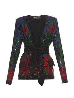 Shop for Hot Tropic crystal-embellished jacket by Balmain at ShopStyle. Balmain Blazer, Balmain Jacket, Glitter Jacket, Stylish Outfits, Fashion Outfits, Women's Fashion, Red Blazer, Blazer Jacket, Date Outfits