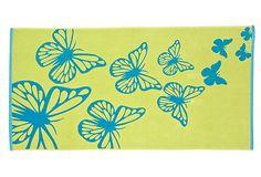 Medium Reversible Papillon Beach Towel on OneKingsLane.com