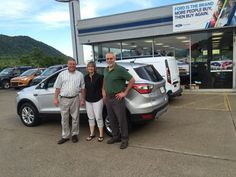 Mike Cobb and the rest of the Turnpike Ford family wish to thank Mr. & Mrs. Gagnon for their business 😃👍