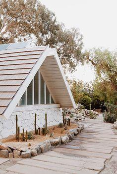 A Fresh New Garden for Sarah's Desert A-frame