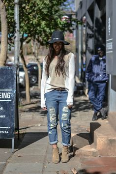 Joburg street style - South African Fashion.
