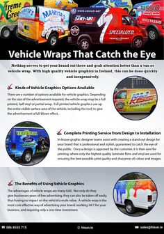 Nothing serves to get your brand out there and grab attention better than a van or vehicle wrap. With high quality vehicle graphics in Ireland, this can be done quickly and inexpensively. Eco Friendly Cars, Lifted Ford Trucks, Mustang Cars, Car Ford, Car Wrap, Land Rover Defender, Exotic Cars, Printing Services, Concept Cars