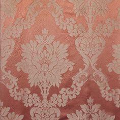 """26828-003 Fornarina Coral by Scalamandre Fabric - 100% Silk - - H: 12.75"""", V…"""